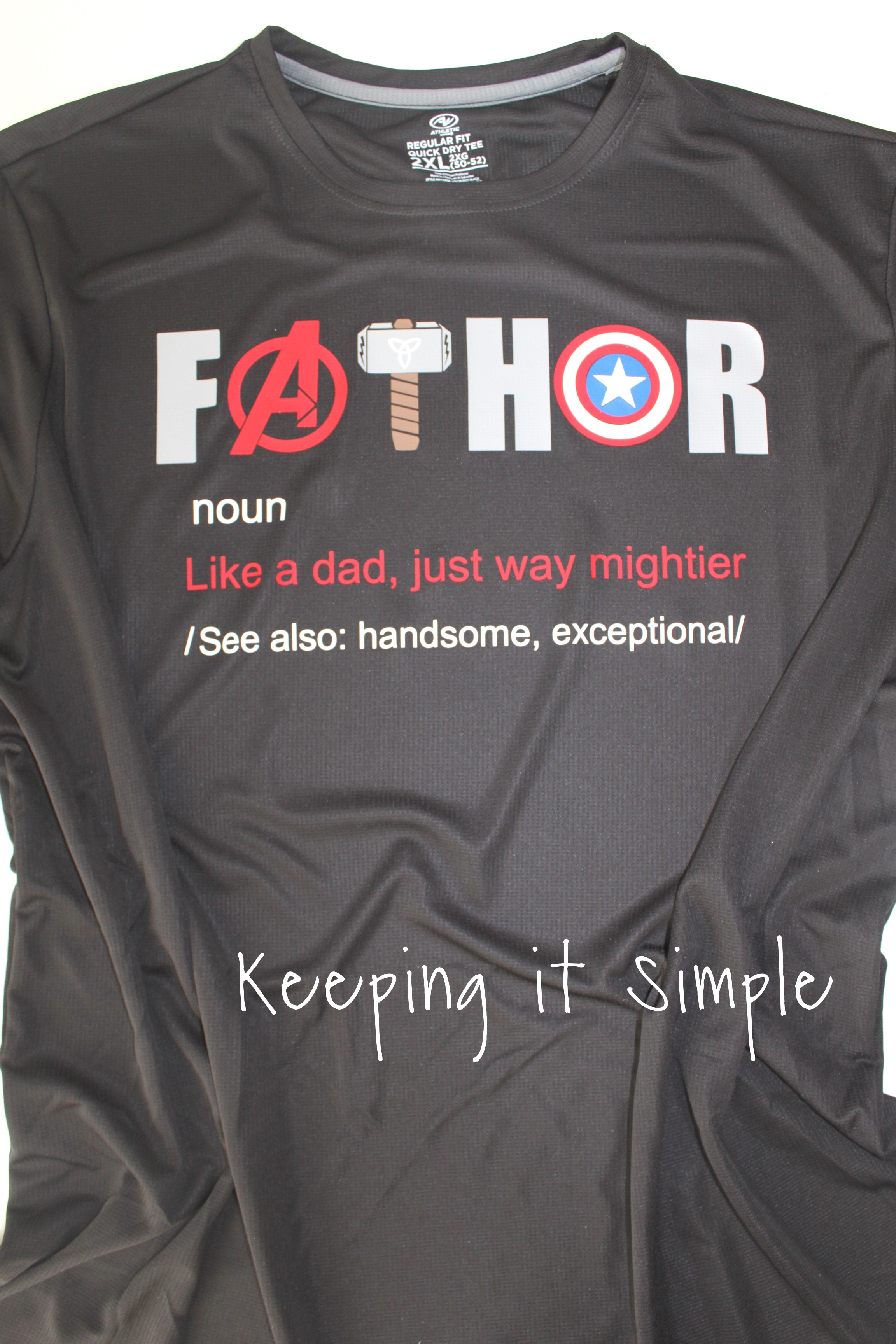 avengers-shirt-fathor (1)2 • Keeping it Simple