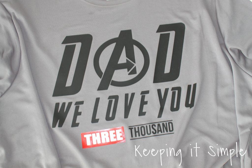 Avengers Shirt {I love you 3000} • Keeping it Simple