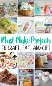 Must Make Projects {MMM #489 Block Party}