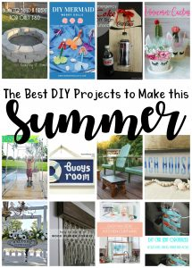 The Best DIY Projects to Make this Summer {MMM #490 Block Party}