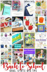 Back to School Ideas {MMM #493 Block Party}