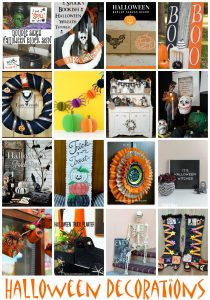 Halloween Decoration Ideas {MMM #499 Block Party}