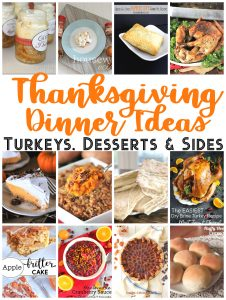 Thanksgiving Dinner Ideas {MMM #505 Block Party}
