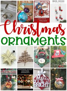 DIY Christmas Ornaments {MMM #508 Block Party}