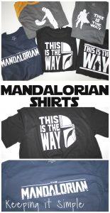 DIY Mandalorian Shirts