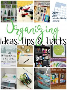 Organizing Ideas {MMM #511 Block Party}