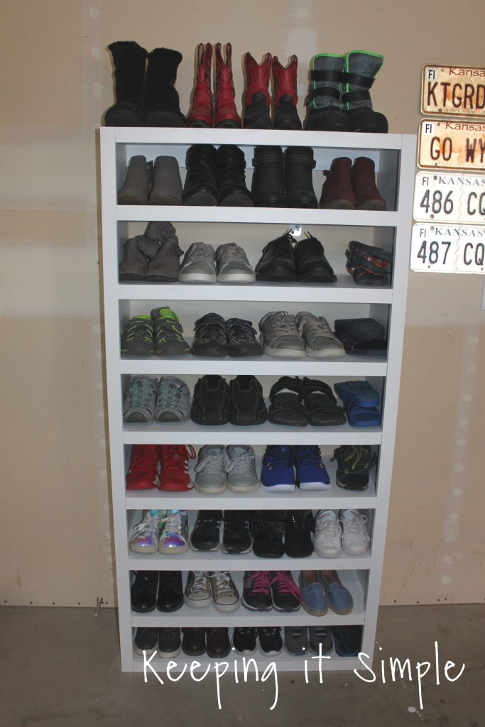Shoe Storage Solutions Diy Shelf, Best Shoe Storage Ideas Garage