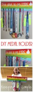 DIY Medal Holder Board